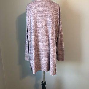 Lou & Grey Sweaters - LOU &GREY PURPLE CARDIGAN